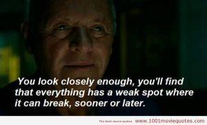 weak spots break