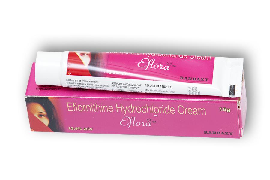 eflornithine for facial hair