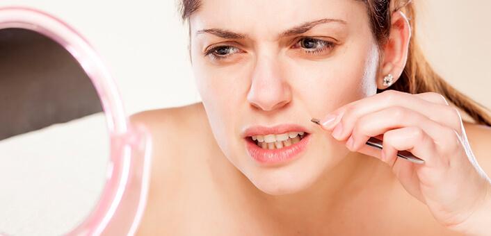 facial hair in women