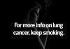 symptoms of lung cancer smoking cessation