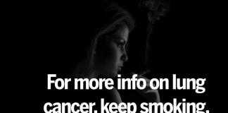 symptoms of lung cancer smoking cessation